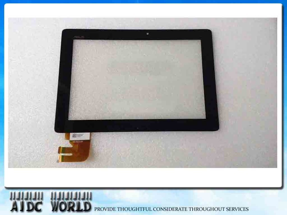 For Asus EeePad Transformer TF300 5158N FPC-1 New Touch Screen Panel Digitizer Glass with frame Lens Repair Replacement Parts original 14 touch screen digitizer glass sensor lens panel replacement parts for lenovo flex 2 14 20404 20432 flex 2 14d 20376