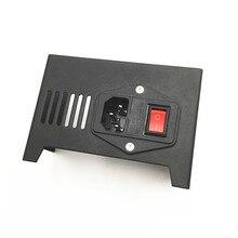 Funssor черный стальной блок питания крышка/протектор в красный горошек с выключателем для Anet A8 3D принтер запчасти для модернизации