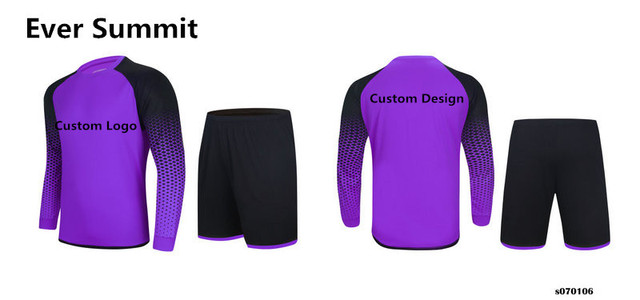 50f0260689a Goalkeeper Jersey Ever Summit Soccer Jersey 070106 Football Training Sets  Clothes Blank Version Customize Number Name Adult
