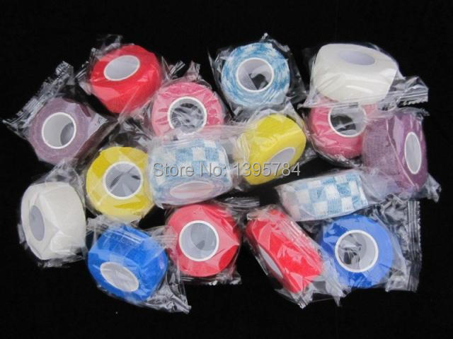 Prix pour 2 pcs/lote 2.5 CM * 4.5 M Non - tissé étanche élastique ruban médical poignet genou de sport de soutien soins de sécurité élastique Bandage