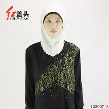 Premium turkish islamic clothing Crystal cotton muslim clothing with Hot fix rhinestone and embroidery robe