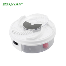 DXBQYYXGS Electric USB Automatic Flycatcher fly trap pest reject control catcher mosquito flying fly killer insect Traps