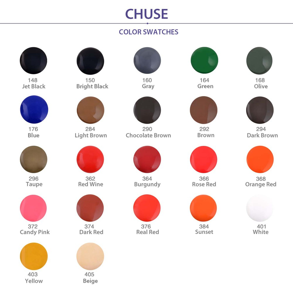CHUSE C1 Permanent Makeup Ink 6 Colors Professional Tattoo Ink Supply for Eyeliner & Eyeliner Shaded Cosmetic microblading 21