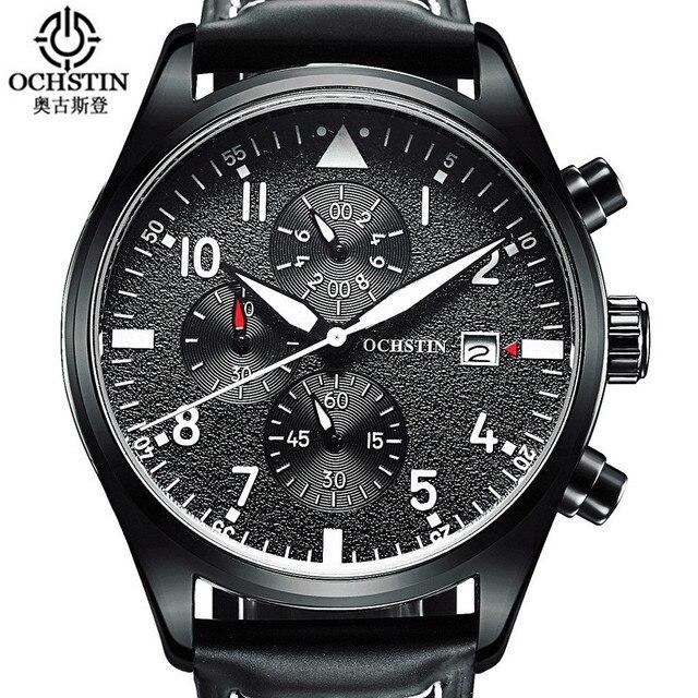 Relógio Masculino 2016 OCHSTINนาฬิกาโครโนกราฟบุรุษยอดนาฬิกาแบรนด์หรูกีฬานาฬิกาผู้ชายนาฬิกาควอตซ์ชาย