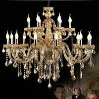 Luxury Chandelier Lustres Chandeliers Crystal Chandelier 6 8 15 18 Lamps Lustres De Teto Lamparas Colgantes