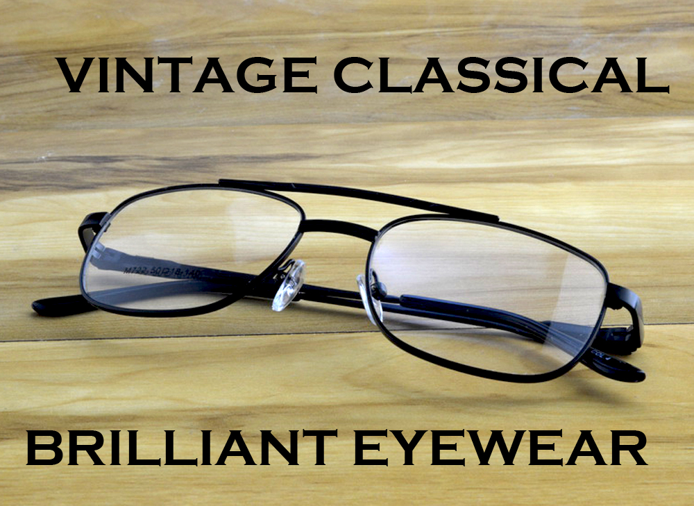 = Scober Piloto Designer de Óculos de Leitura Multifocal Progressiva Ponte Dupla Dobradiça de Mola de Ver de Perto E de Longe Superior 0 Adicionar + 1 a + 4