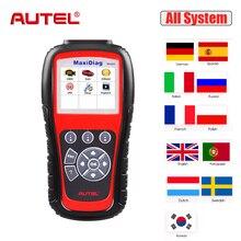 Autel MaxiDiag MD805 Todo o Sistema de Diagnóstico Do Carro Ferramenta de Auto de Transmissão de Código Scanner Leitor Motor ABS Airbag SRS EPB OBD2 TPMS