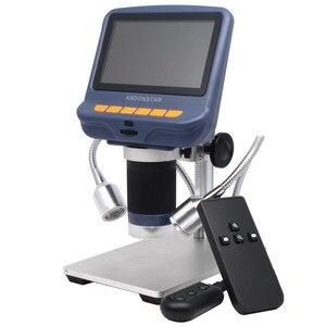 Andonstar цифровой микроскоп для ремонта телефона паяльник bga smt ювелирные изделия Оценка биологическое использование детский подарок