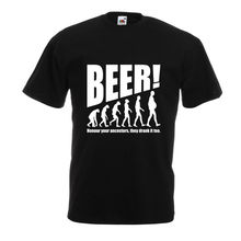 Beer! Honour Your Ancestors, They Drank Is Too T-Shirt / 2 Colors