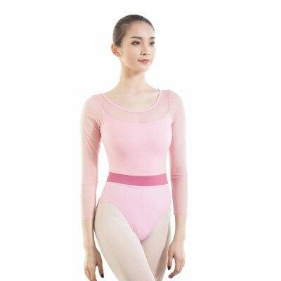 e743d2fb4d9e Adult Ballet Leotards Black Pink Gymnastics Leotard For Women Adult ...