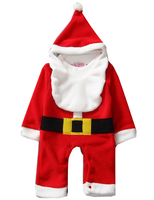 Baby Boy Clothes Newborn Boy Girls Christmas Rompers With Hat Kids Warm Clothing Christmas Gift For