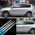 16 шт нержавеющая сталь Дверная оконная рама подоконник формовочная отделка для Toyota RAV4 2009-2012