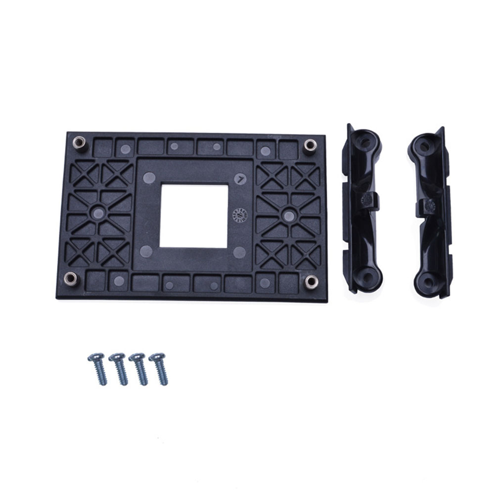 Stable Practical Easy Install CPU Fan Bracket Holder Radiator Mount Sturdy Replacement Professional Back Plate Support For AM4