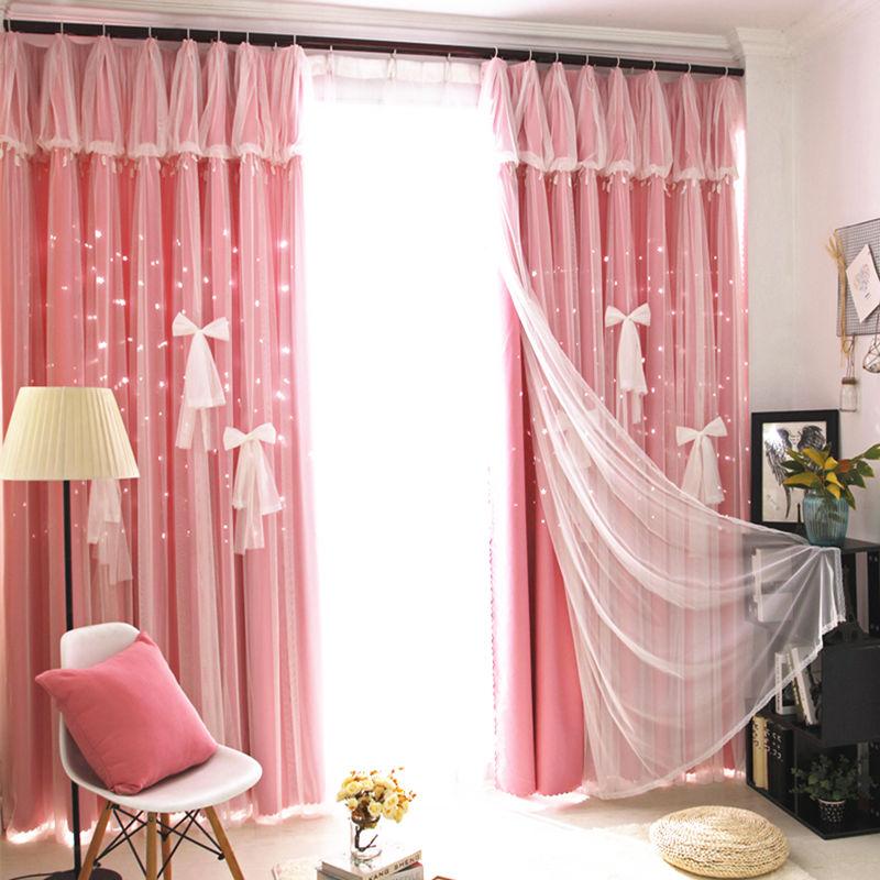 Beautiful Romantic blackout Curtains Window Customized Fashion ...