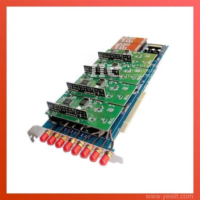 Asterisk Карты G800P 8 порт GSM поддержка dahdi и Zaptel драйвера для voip elastix trixbox ip поддержки атс IMEI изменения