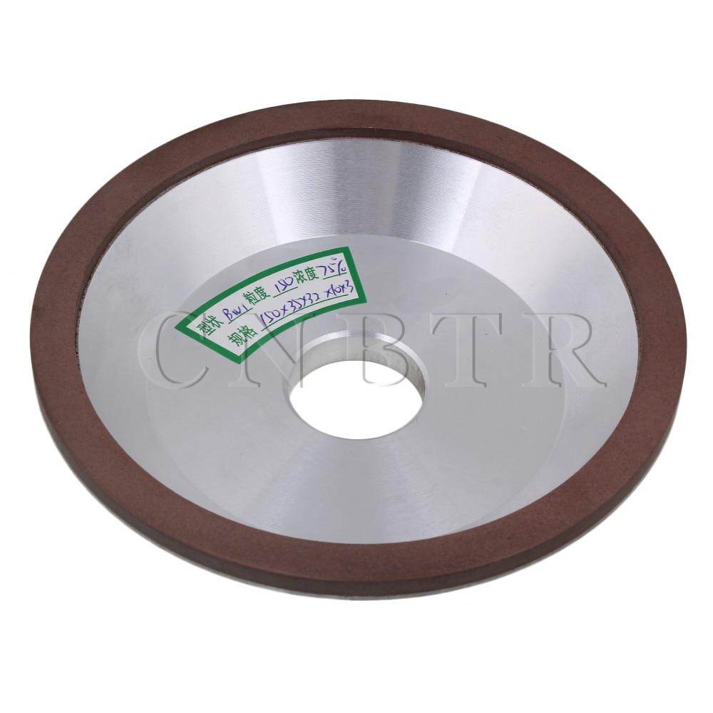 CNBTR 15cm OD Cup Bowl Shape Grinding Wheel Grit 150 Cutting Tool Diamond Width 1cm cnbtr 15cm od cup bowl shape grinding wheel grit 150 cutting tool diamond width 1cm