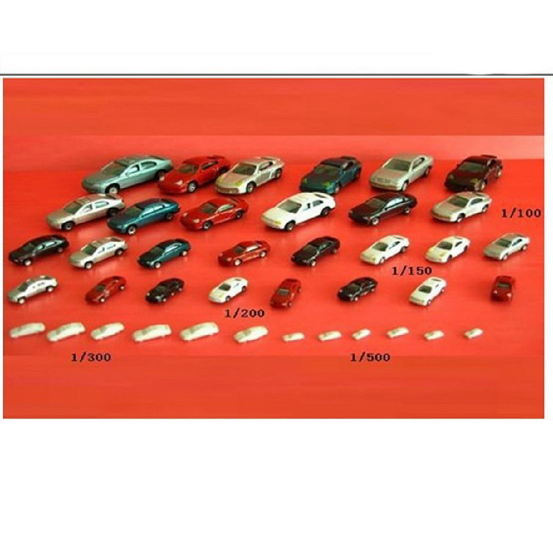50Pcs/Pack 1:200 Simulation Cars Sand Table Model Cars Hot Selling