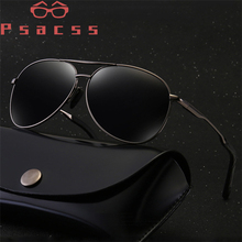 Psacss Classic Pilot Polarized Photochromic Sunglasses Men W