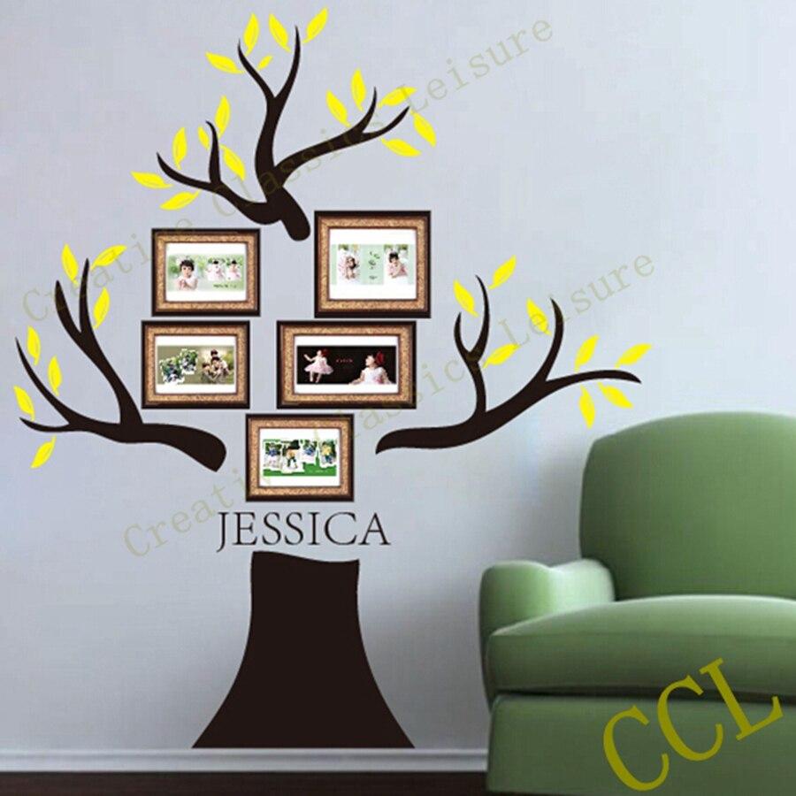 Große Familie Baum Wandtattoo Personalisierte mit familie name ...