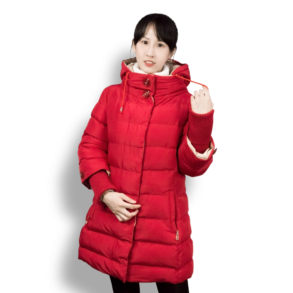 Female Coat Winter Long Jacket Women's Quilted Parka With Hood Warm High Collar Cotton Jackets Large Size 4XL new 2017 men winter black jacket parka warm coat with hood mens cotton padded jackets coats jaqueta masculina plus size nswt015