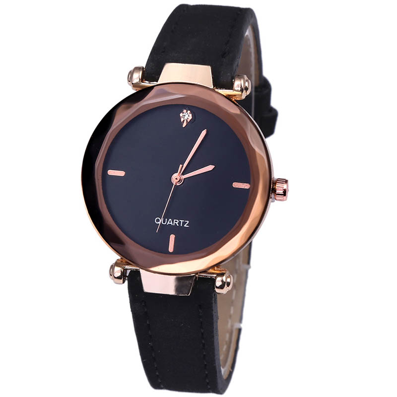Women Wrist Watches Luxury Fashion Casual Simple Quartz Clock for Women Leather Strap Wrist Watches LB