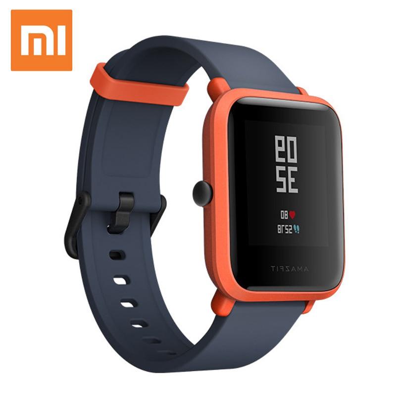 Eredeti Xiaomi Huami Amazfit Bip Smart óra 45 napok készenléti BIT PACE Lite Ifjúsági Verison Smartwatch Vízálló Sportóra Férfi