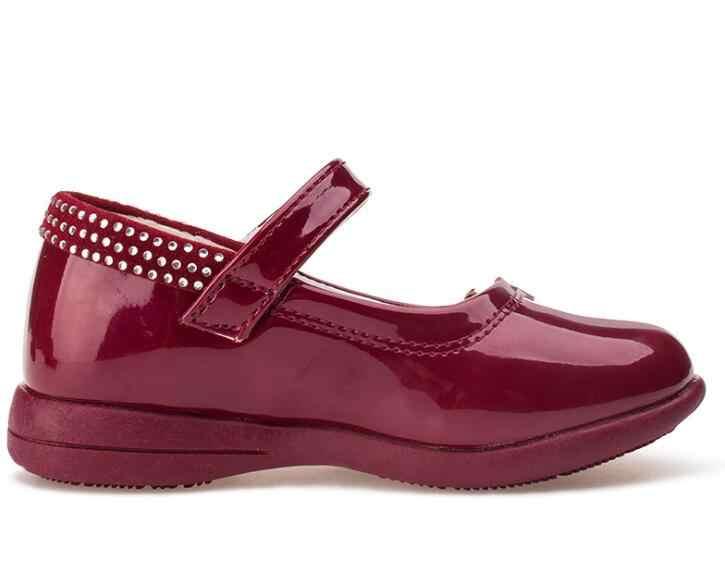 ילדה נעלי ילדי נעלי Bowknot Chaussure enfant נסיכת פטנט עור בנות נעלי ילדי נעל נעלי ילדי ילד