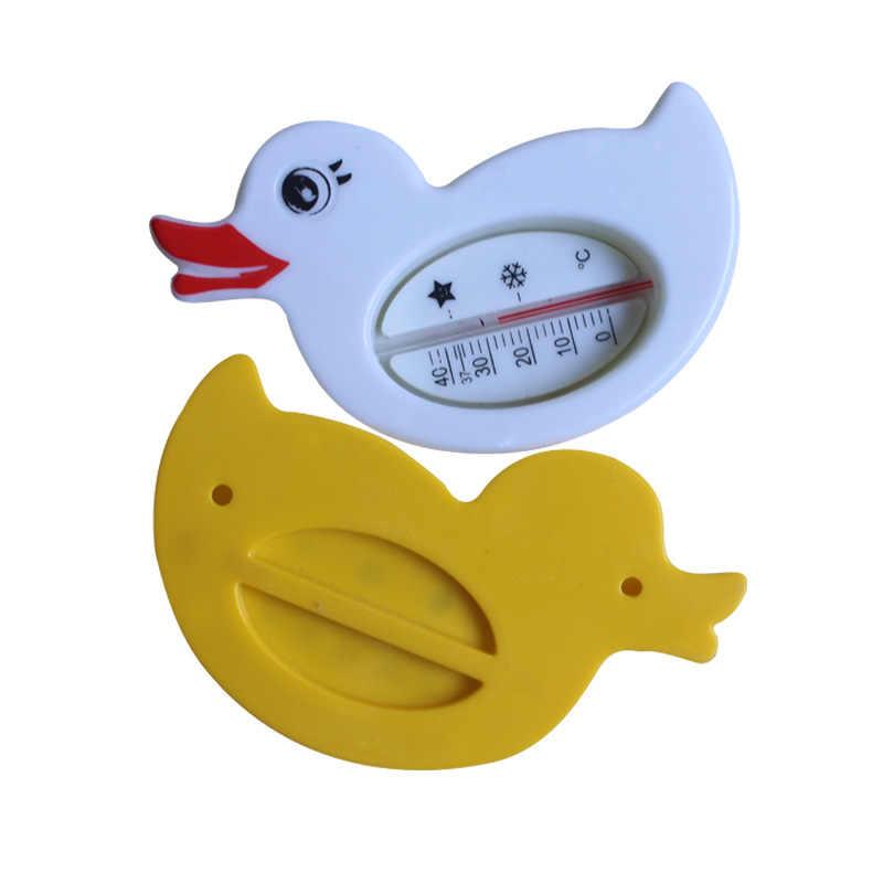 Termômetro de Temperatura Da Água do Chuveiro de bebê Pato Amarelo Bonito Dos Desenhos Animados Sala de Banho Banheira Banho Suprimentos Crianças Infantil Brinquedos Interiores