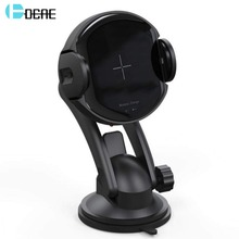 DCAE Fast Charging 15W Qi Car Mount Wireless Charger For iPhone 11 XS Max XR X 8 Samsung S10 S9 Automatic Infrared Phone Holder