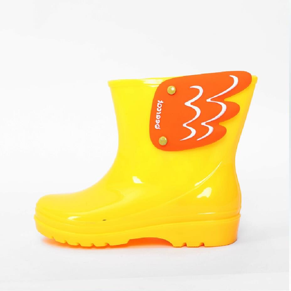 Koovan-Children-Rain-Boots-Childrens-Mid-Cut-Kids-Fashion-Baby-Girls-Boys-Water-Shoes-Cartorn-Wing-Fly-Rubber-Boots-Light-Wings-4