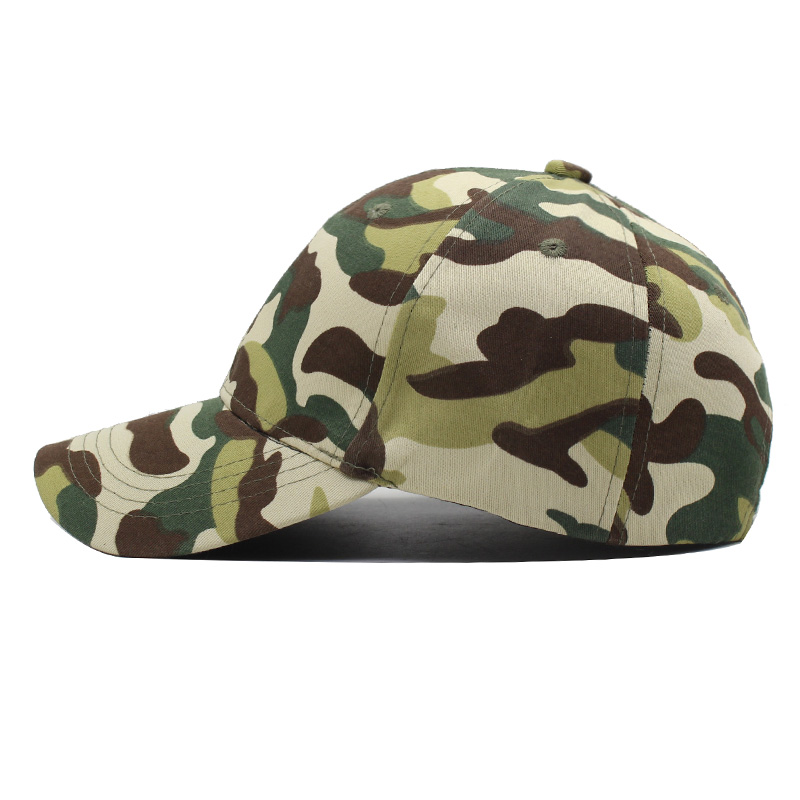 AKIZON Fashion New Brand Men Baseball Cap Camouflage Snapback Caps ... a5a6f3fc6b1