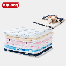 Hipidog Pet Bed Mats Cat Cushion Puppy Kitten Breathable Soft Sleeping Blanket For Small Medium Dog Chihuahua French Bulldog Pug