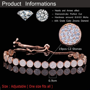Image 5 - CWWZircons Adjustable Size Fashion Rose Gold Color Micro Pave Round Cubic Zirconia Baguette Chokers Necklace For Women CP006