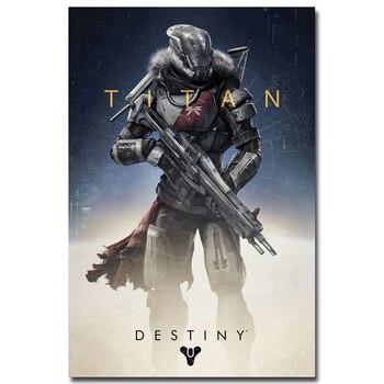 Шелковый Плакат Гобелен Destiny Судьба вариант 3