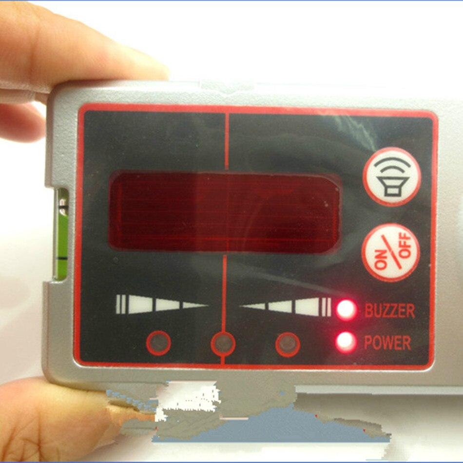 JSQ001 Laser Level Receiver Red Light Receiver For 2 Line / 3 Line / 5 Line / 8 Line Detector