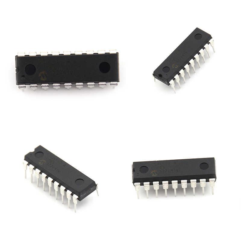 1 個低電圧低速 ic マイクロチップ dip-18 PIC16F628A PIC16F628A-I/p マイクロコントローラプロセッサ時計モード