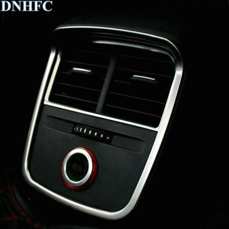 DNHFC Car rear air conditioning outlet sequins For <font><b>Audi</b></font> <font><b>A3</b></font> <font><b>8V</b></font> <font><b>Sedan</b></font> Sportback 2013 2014 2015 2016 Auto Accessories Cover image
