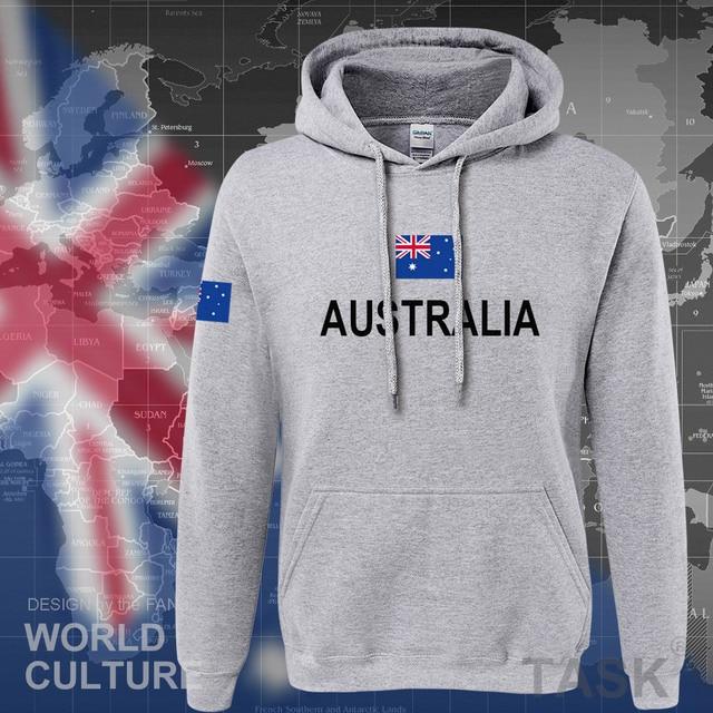 Commonwealth of Australia hoodie men sweatshirt sweat new streetwear clothing jerseys tracksuit 2017 nation Australians flag AU 5