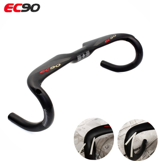 2019 EC90 manubrio bici Full Carbon manubrio bici da strada manubrio manubrio riproduzione UD manubrio in carbonio opaco consegna gratuita