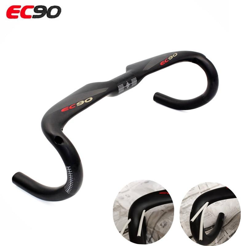 2019 ec90 completo de carbono guiador da bicicleta estrada guiador haste lidar com jogar ud fosco guiador carbono entrega gratuita