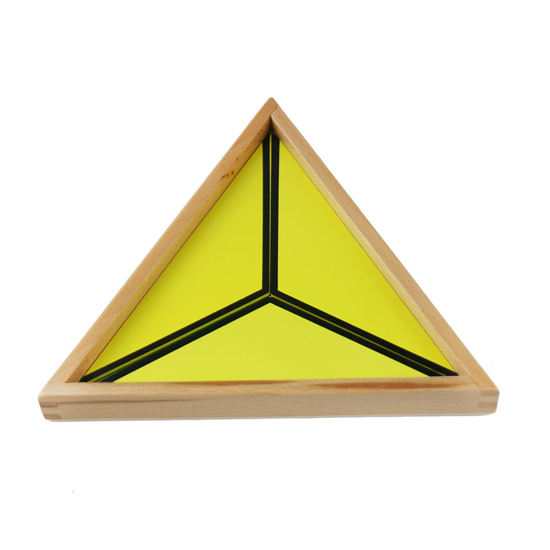 Montessori maths jouets Montessori matériaux préscolaire géométrie Constructive Triangles couleur équilatérale Triangle UD2065H - 6