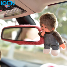 1pcs Cute doll Car Interior Mirrors covers case rearview mirror for toyota camry corolla crv ford VW Jetta passat audi a6