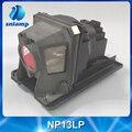Venda quente barato compatível bulbo da lâmpada do projetor NP110 NP115 NP13LP para V260W NP115G NP210 NP215 NP210G NP215G NP216 NP216G...