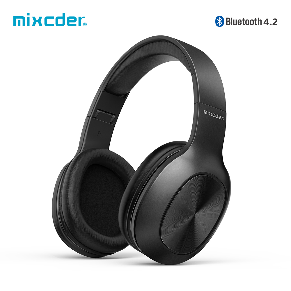 Mixcder HD901 Wireless  Bluetooth Headphone Over-Ear Wired Wireless Headphones Foldable Bluetooth 4.2 Headset with Mic TF Card Наушники