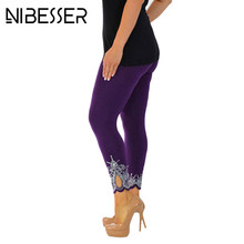 NIBESSER Women Autumn Leggings Fashion Skinny Leggins Pant 2017 Girls Solid Hollow Out Capris Underpants Female Z30