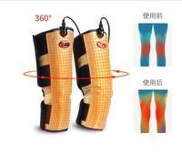Электрические Вибрационный магнитотерапия дальнего Infraid нагрева Фиксатор для колена перчатки Массаж нога с шарниром Arm массажер для тела п
