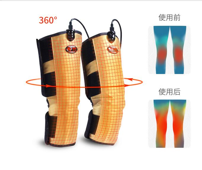Electrical Vibrating Magnet Therapy Far Infraid Heating Knee Belt Gloves Massage Joint Leg Arm Body Massager Moxibustion