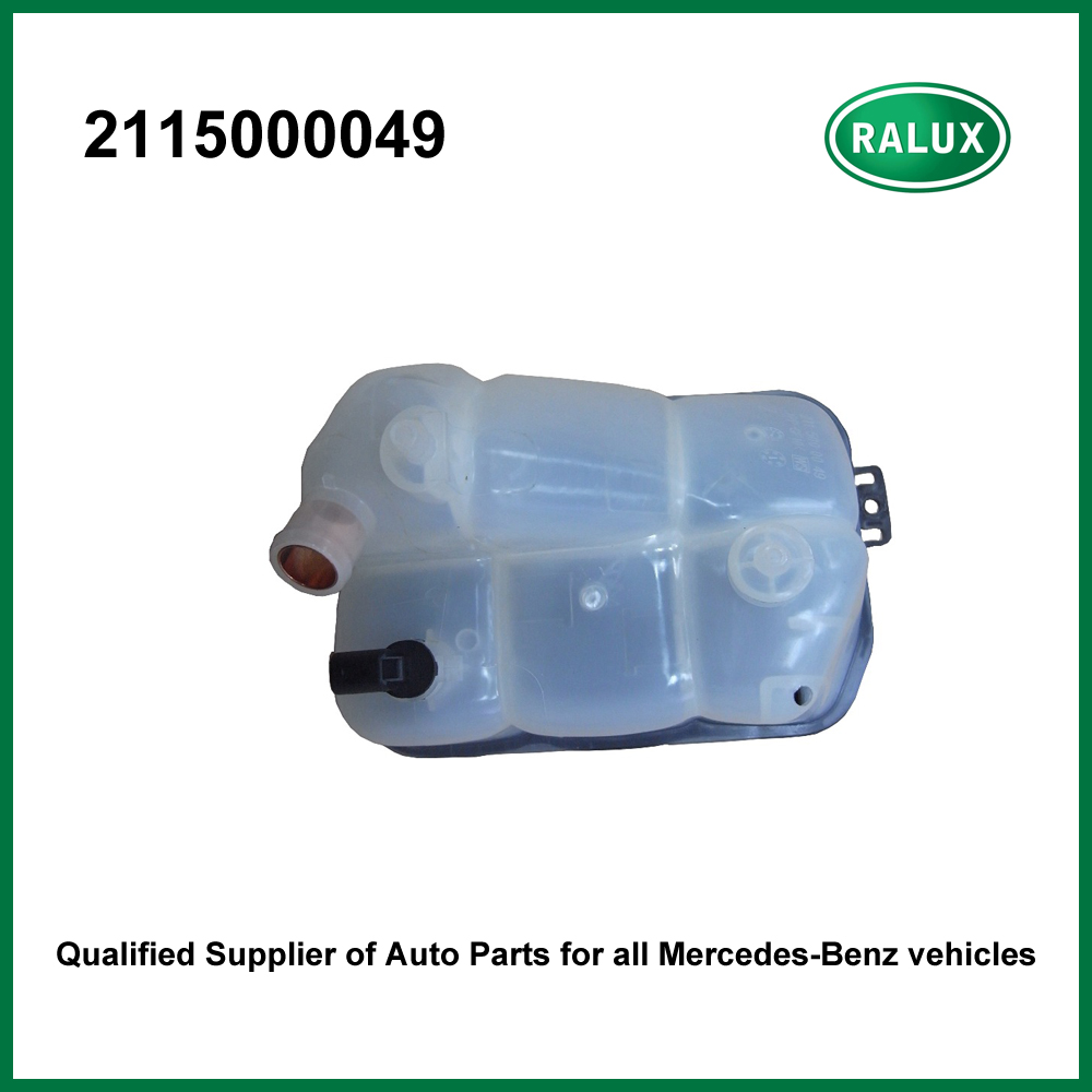 2115000049 Car Radiator Expansion Tank For Benz Coolant Overflow Mercedes Engine Container Autoengine Cooling System Part Aftermarket Wholesale