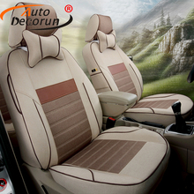 AutoDecorun Customized Covers Car Seat for Lexus LS400 LS460 LS460 LS460L Car Seat Cover Cushion Set Supports Auto Accessories