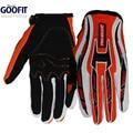 Goofit 2016 Para Hombre de La Motocicleta guantes de La Bicicleta Ciclismo Dedo Completo Transpirable Guantes de Moto de Carreras de motocross Deportes Guantes CE-01
